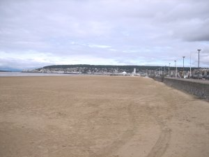 Beach at Weston super Mare